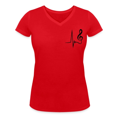 BloodBlues - T-shirt bio col V Stanley & Stella Femme