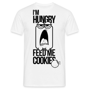 I'm hungry, feed me with cookies, ich mag kekse T-Shirts - Männer T-Shirt