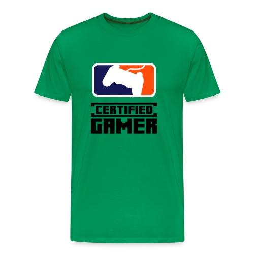 Certified Gamer T-Shirt - Men's Premium T-Shirt