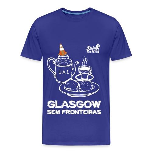 Brazil (Minas Gerais) WHITE - Men's Premium T-Shirt