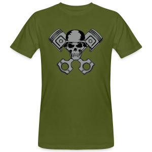 Petrol Head - Green - Men's Organic T-shirt