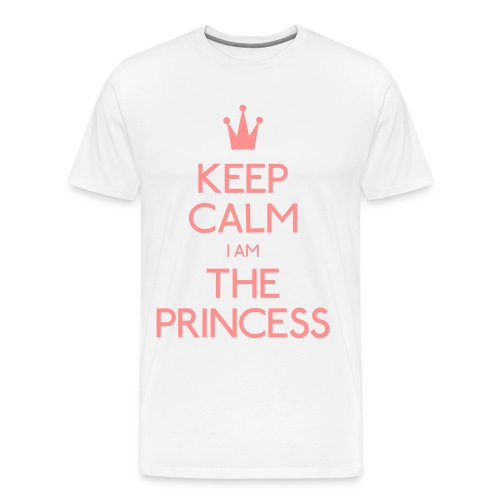 Keep Calm I Am The Princess Men - Men's Premium T-Shirt
