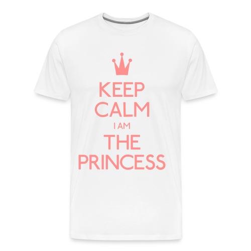 Keep Calm I Am The Princess Men - Men's Premium T-Shirt