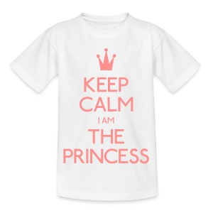 Keep Calm I Am The Princess Kid - Kids' T-Shirt