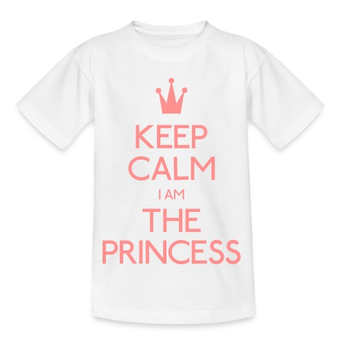 Keep Calm I Am The Princess Kid - Kids' T-Shirt