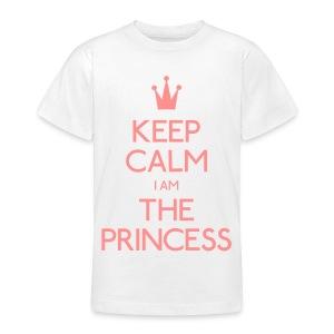 Keep Calm I Am The Princess Teenager - Teenage T-shirt