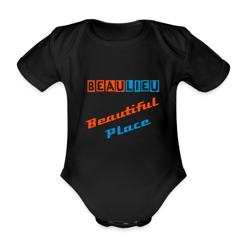 Beaulieu Baby Grow - Organic Short-sleeved Baby Bodysuit
