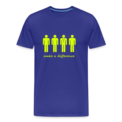 Scouts - make a difference - Men's Premium T-Shirt