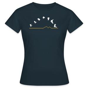 Sequences Girls Top  (Navy) - Women's T-Shirt