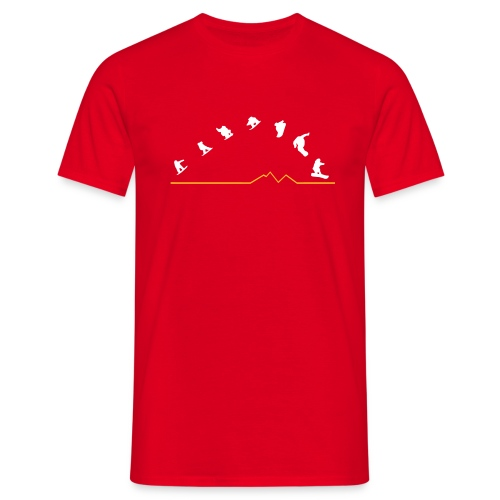 Sequences  (Red) - Men's T-Shirt