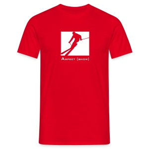 Blockski (Red) - Men's T-Shirt