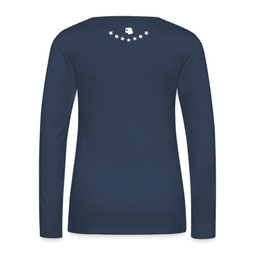 Crest 2014 - Frauen Premium Langarmshirt