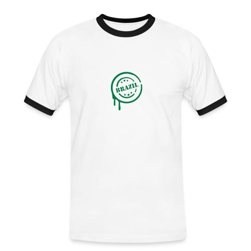 T-shirt uomo Brazil - Maglietta Contrast da uomo