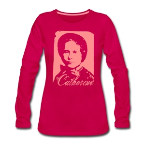 Catherine Booth - Frauen Premium Langarmshirt