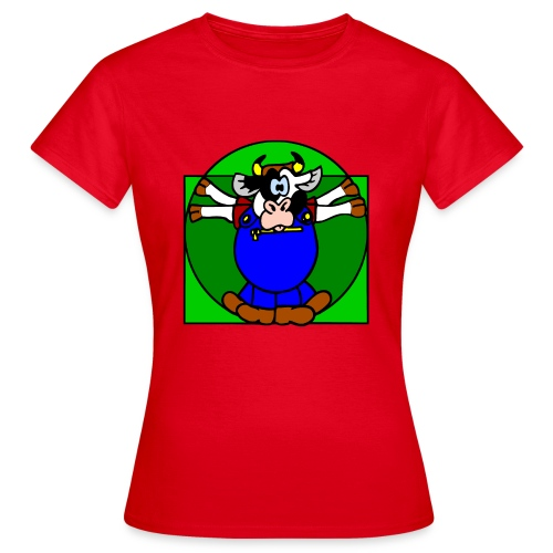 Leonardo Kuh - Frauen T-Shirt