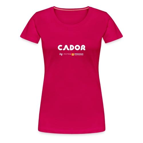 Cadorette du Futur - T-shirt Premium Femme