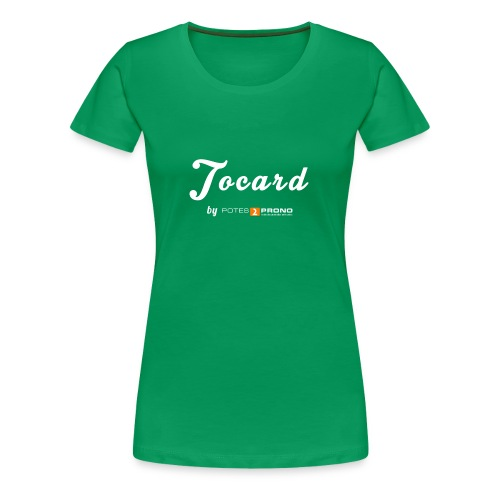 Tocarette Discrette - T-shirt Premium Femme