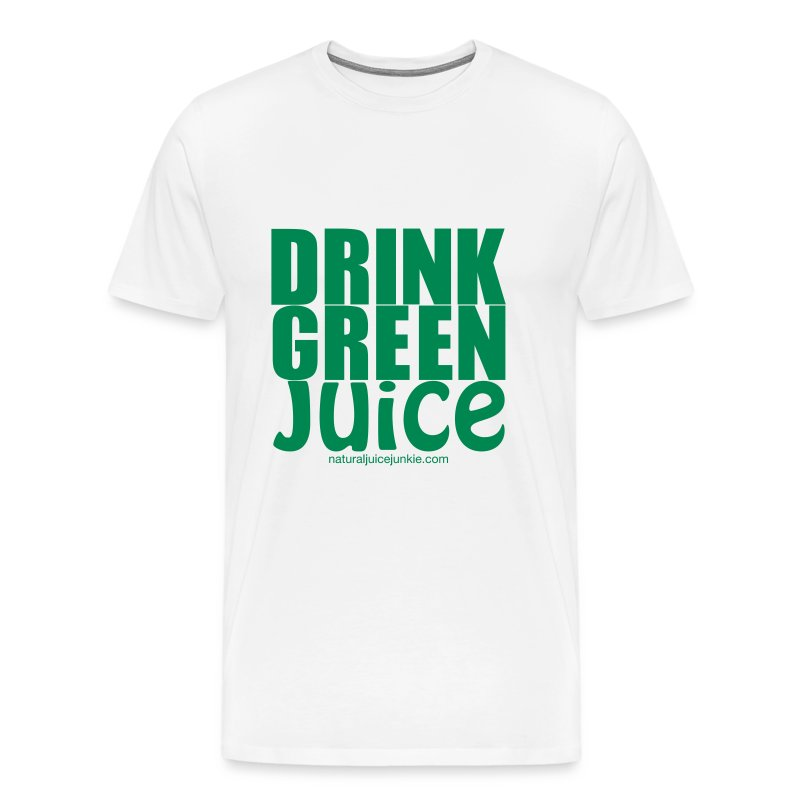 Drink Green Juice - Men's Tee - Men's Premium T-Shirt