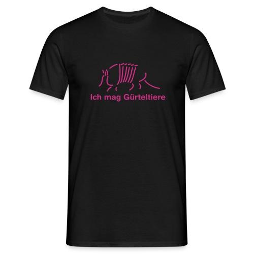 Ich liebe Gürteltiere - Männer T-Shirt