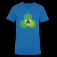 Tee shirts ~ Tee shirt Homme col V ~ Hexagol
