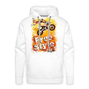 FreeStyle Grunset - Sweat-shirt à capuche Premium pour hommes