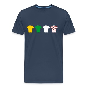 Tour de France - Mannen Premium T-shirt