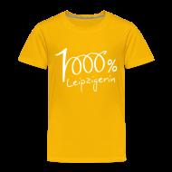 T-Shirts ~ Kinder Premium T-Shirt ~ Kinder T-Shirt 1000% Leipzigerin
