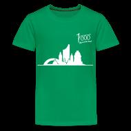 T-Shirts ~ Teenager Premium T-Shirt ~ Kinder T-Shirt Skyline