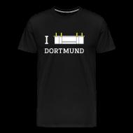 T-Shirts ~ Männer Premium T-Shirt ~ I Love Dortmund