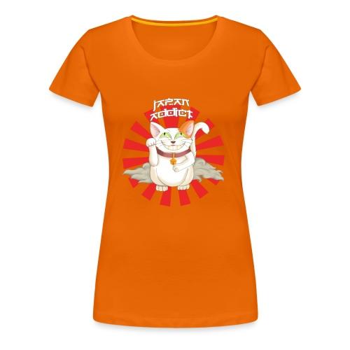 Japan Addict - T-shirt Premium Femme
