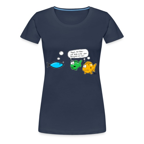 Jesusfische - Frauen Premium T-Shirt