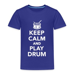 Keep calm and play drum T-Shirts - Kinder Premium T-Shirt