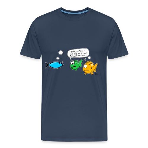 Jesusfische - Männer Premium T-Shirt