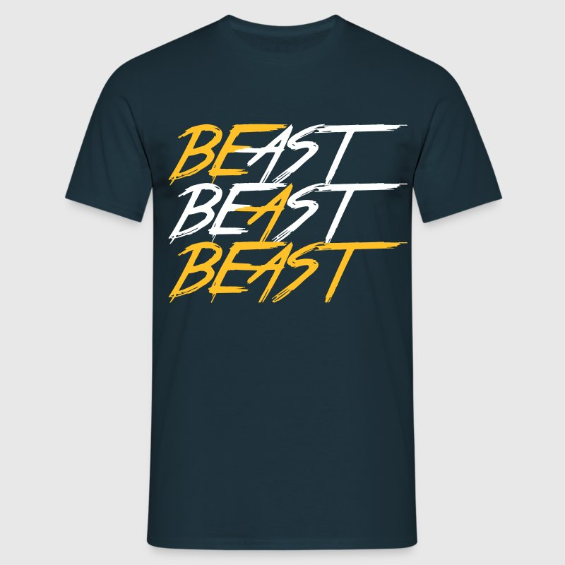 Be A Beast - Bodybuilding, Fitness, Crossfit  - Mannen T-shirt