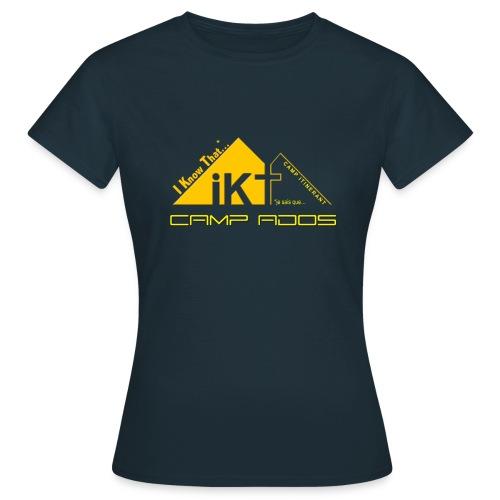 Tee Shirt Femme IKT BASIC - T-shirt Femme