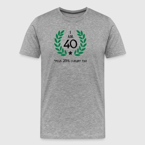 50 - 40 plus tax T-shirts - Premium-T-shirt herr