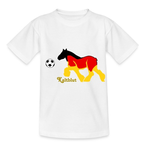 Kaltblut Fußball - Kinder T-Shirt