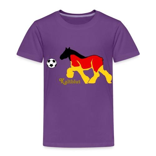 Kaltblut Fußball - Kinder Premium T-Shirt