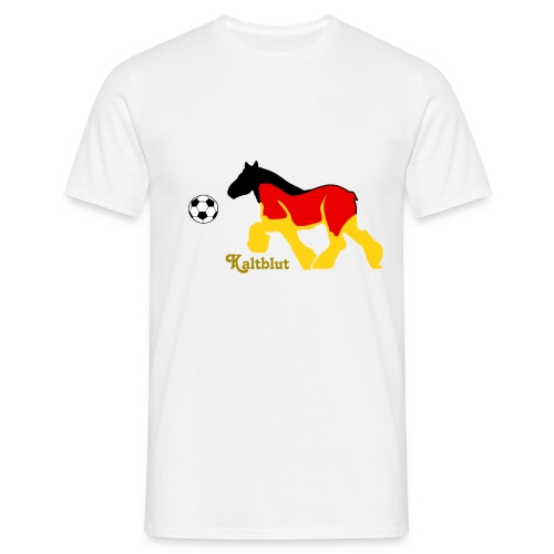 Kaltblut Fußball - Männer T-Shirt