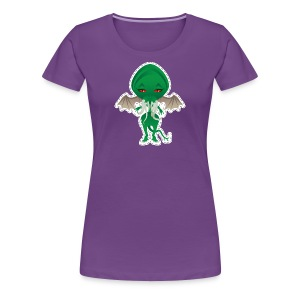 Pin Up T-shirt F - Cthulhu - T-shirt Premium Femme