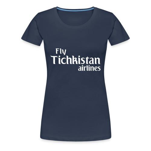 T-Shirt Premium Femme Vestiaires - T-shirt Premium Femme