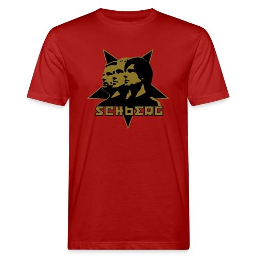 Goldene Organimopeten - Männer Bio-T-Shirt