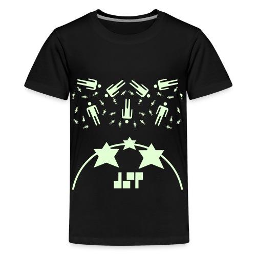 Humans In The Sky (glow in the dark, Premium-shirt), Teenager - Teenage Premium T-Shirt