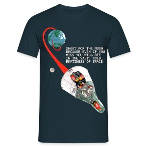 Shoot For The Moon - Standard T-shirt - Men's T-Shirt