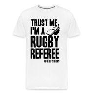 T-Shirts ~ Men's Premium T-Shirt ~ I'm a Rugby Referee