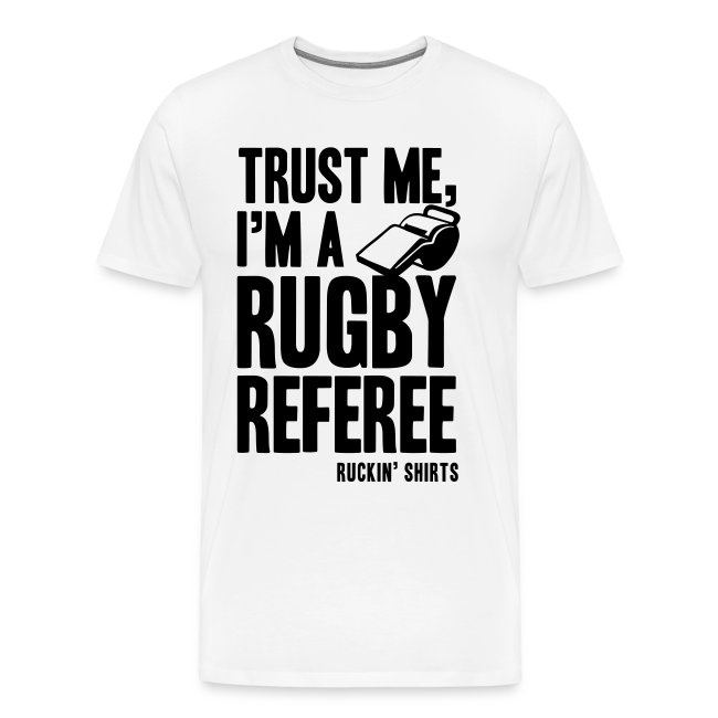 I'm a Rugby Referee