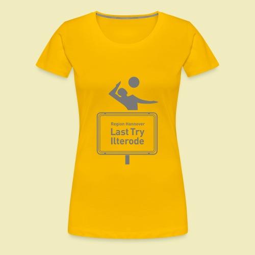 Ilterode T-Shirt gelb (w) - Frauen Premium T-Shirt