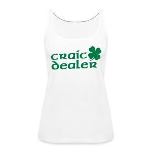Craic Dealer - Frauen Premium Tank Top