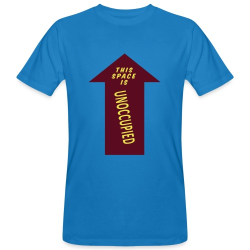 Howlin' Mad Murdock's 'Unoccupied Space' shirt - Men's Organic T-Shirt