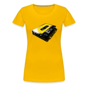 shadow tape: yellow - Women's Premium T-Shirt